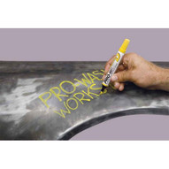 Markal 97010 Pro-wash� D Detergent Removable Paint Markers-removable Liquid Paint Markers-white 48 In Box-2