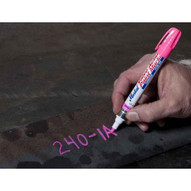 Markal 97053 Valve Action� Paint Markers-liquid Paint Marker For General Marking-fluorescent Pink 48 In Box-1