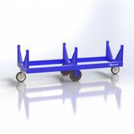 Jescraft MBC-8628PL-4K Mobile Bar Cart, 4000 LB Capacity -0