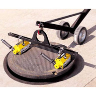 Magnetics mcl660x2 Manhole Magnetic Cover Lift Included 2 PNL0800 Magnets and Spreader Bar (Dolly Lift Sold Seperate)-3