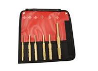 Mayhew 67007 6 Piece Brass Pin Punch Saeset-1