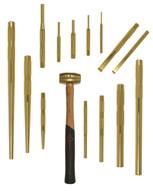 Mayhew 67015 15 Piece Brass Punch &scraper Set-1
