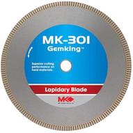 MK Diamond 166071 (MK-301) 16 Gemking™ Notched rim blades for hard lapidary materials, Supreme Grade, Width: .060-1