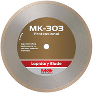 MK Diamond 170559 (MK-303) 7 Continuous Rim Blades for lapidary materials, Professional Grade, Width: .030-1