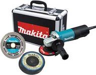 Makita 9557pbx1 4-1 2 Angle Grinder Promo Pack-1