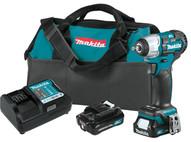 Makita WT05R1 12v Max Cxt� Brushlesscordless 38 Sq. Drive Impact-1