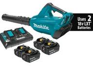 Makita XBU02PT1 18v X2 (36v) Lxt� Brushlessblower Kit With 4 Batteries-1