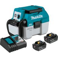 Makita XCV11T 18v Lxt Brushless Cordless 2g.hepa Filter Portable Wetdry-1