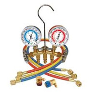 Mastercool 66661 R134a Brass Manifold Set-1