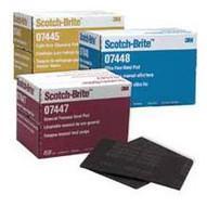 3m Company 7447 Scotch Brite Medium Duty Paint Scuffing Pads-1
