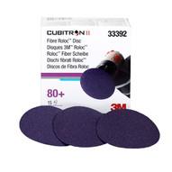 3m Company 33392 3 Cubitron�80g Ii Fibre Rolocdisc Box Of 15-1
