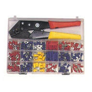 Morris Products 10817 200 Piece Terminal Kit With Controlled Cycle Crimp Tool-1