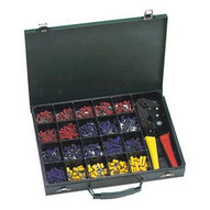Morris Products 10818 500 Piece Terminal Kit With Controlled Cycle Crimp Tool-1