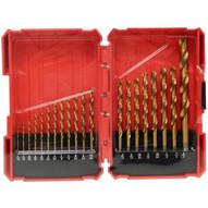 Morris Products 13592 16 Piece Titanium Coated Drill Bits Set-1