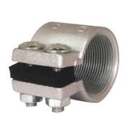 Morris Products 14453 Malleable Rigid Split Couplings 2-12-1