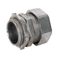 Morris Products 14918 Emt Compression Connectors - Zinc Die Cast 3-12-1