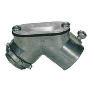 Morris Products 15031 Emt To Box Set Screw Pulling Elbows - Zinc Die Cast 34-1