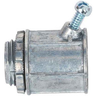 Morris Products 15054 Flex Angled Set Screw Box Connectors - Zinc Die Cast 34-1
