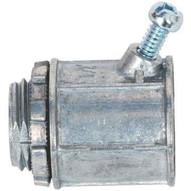 Morris Products 15055 Flex Angled Set Screw Box Connectors - Zinc Die Cast 38-1