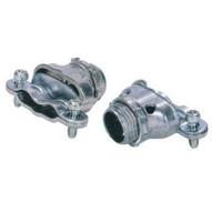 Morris Products 15066 Flex Duplex Box Connectors - Zinc Die Cast - 2 Set Screw 38-1