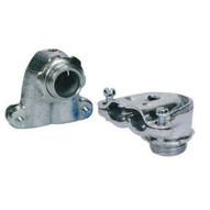 Morris Products 15067 90&deg Flex Duplex Box Connectors - Zinc Die Cast 38-1