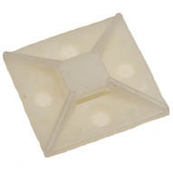 Morris Products 20355 Self-adhesive Tie Mounts 1.5 X 1.5 (100 Piece Pack)-1