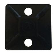 Morris Products 20395 Self-adhesive Tie Mounts Uv Black 34 X 34 With (2) #8 Screw Holes-1