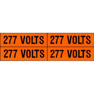 Morris Products 21338 Voltage Markers (4) 277v (5 Piece Pack)-1