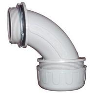Morris Products 21823 Non-metallic Liquid Tight Connectors 90� With Steel Locknut 1 2�-1