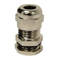 Morris Products 22595 Metal Cable Glands - Metric Thread M25 .51 - .71-1