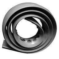 Morris Products 22617 Soft Wiring Duct Gray 4�wide-1