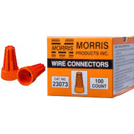 Morris Products 23073 Screw-on Wire Connectors P3 Orange Boxed 100 Pack (100 Piece Pack)-1