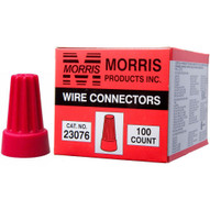 Morris Products 23076 Screw-on Wire Connectors P6 Red Boxed 100 Pack (100 Piece Pack)-1