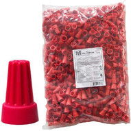 Morris Products 23176 Screw-on Wire Connectors P6 Red Bagged 500 Bulk Pack (500 Piece Pack)-1
