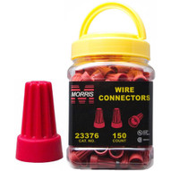 Morris Products 23376 Screw-on Wire Connectors P6 Red Small Jar-1