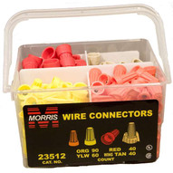 Morris Products Combo Handy Pack Wire & Wing Connectors 23512-1