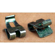 Morris Products 30773 Green Grounding Clips (100 Piece Pack)-1