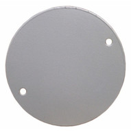 Morris Products 36850 4 Round Weatherproof Covers - Blank Gray-1