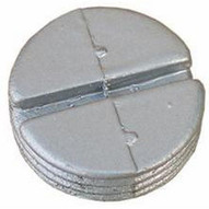 Morris Products 37530 Hole Plugs 1 Gray (10 Piece Pack)-1