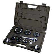 Morris Products 50424 Hole Punch Kit - Manual Ratcheting Tool 12 To 2-1
