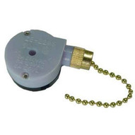 Morris Products 70045 Pull Chain Brass Sptdt 2 Speed Off-on-on-1