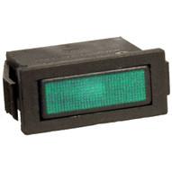 Morris Products 70310 Rectangular Indicator Pilot Lamp Green 250vac (10 Piece Pack)-1
