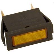 Morris Products 70312 Rectangular Indicator Pilot Lamp Amber 250vac (10 Piece Pack)-1