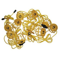 Morris Products 71190 Temporary String Lighting with Plastic Lamp Guards 143 50ft-1