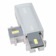Morris Products 71208 12v Led Driverless Undercabinet Lighting Accessories Tee Left Connector 3000k-1