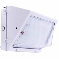 Morris Products 71429B Led Medium Classic Wallpacks 75w 8635 Lumens 120-277v White-1