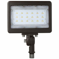 Morris Products 71555A Led Small Floods 12 Knuckle Mount 30w 3000k 3404 Lumens Bronze-1