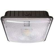 Morris Products 71603B Led Ultrathin Canopy Light Gen 2 45 Watts 5000k Bronze-1
