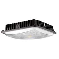 Morris Products 71606B Led Ultrathin Canopy Light Gen 2 70 Watts 4000k Bronze-1