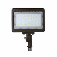 Morris Products 71824A Led Small Floods 12 Knuckle Mount 50w 3000k 5717 Lumens Bronze-1